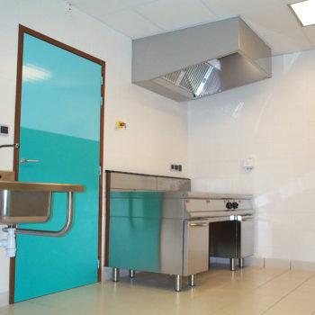 laboratoire cuisine inox