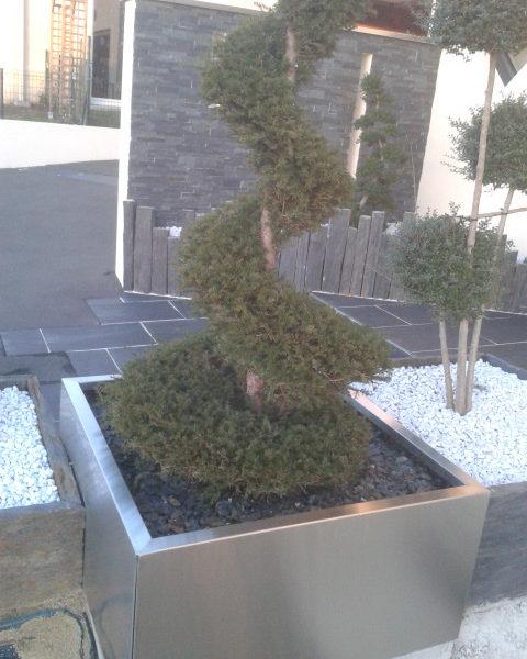 bac inox pour jardin