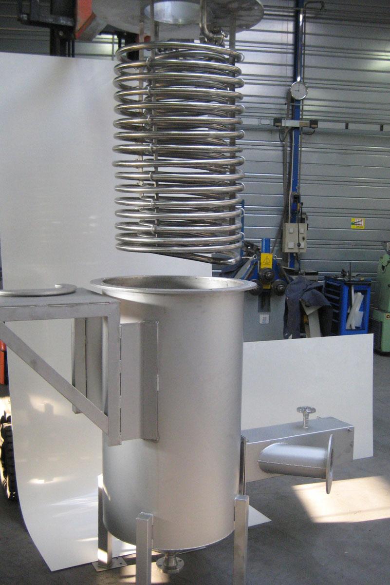equipements frigoristes en inox