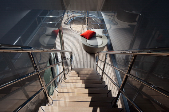 passerelle inox yachting